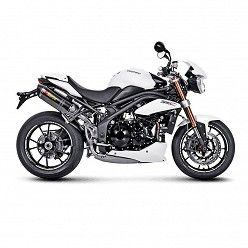Escapes Akrapovic Triumph Speed Triple R 1050 2012-2015 Carbono copa Carbono S-T10SO1-HRC