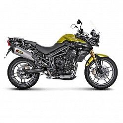 Escape Akrapovic Triumph Tiger 800 2011-2016 Titanio copa Carbono S-T800SO1-HZAAT