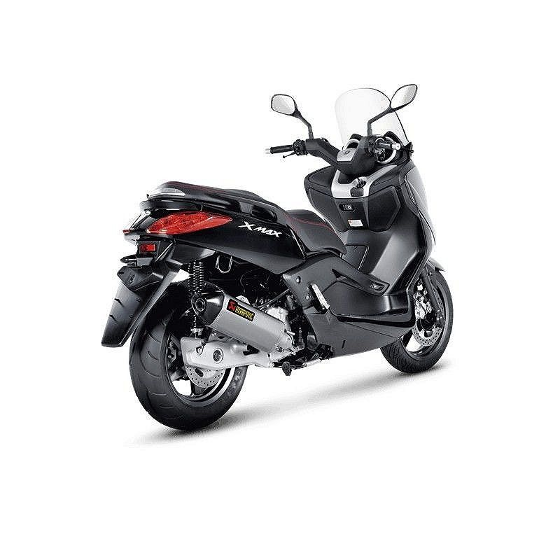 escape completo akrapovic yamaha xmax 125 abs 2011 2016 s y125so4 hrss. Black Bedroom Furniture Sets. Home Design Ideas