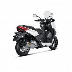 Linea completa Akrapovic Yamaha  XMax 250 2007-2016 Inox copa Carbono S-Y2SO7-HRSS