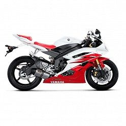 Escape Akrapovic Yamaha YZF 600 R6 2006-2007 Titanio copa Carbono S-Y6SO6-HTT
