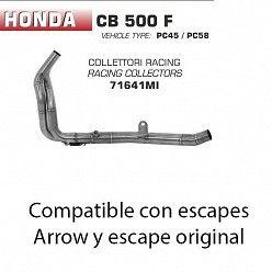 Colectores Arrow Honda CB 500 F 2016-2018 71641MI