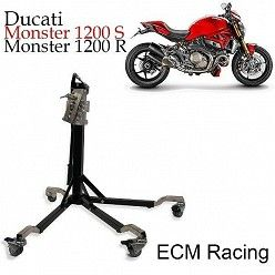 Elevador central de moto racing ECM para Ducati Monster 1200 S R