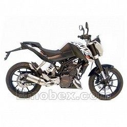 Escape Leovince KTM DUKE 125 2011-2016 LV One Inox Ref: 8725