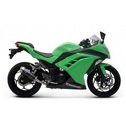 Escape Termignoni Kawasaki Ninja 300 R 2012-2015 Relevance Carbono K074094CVI