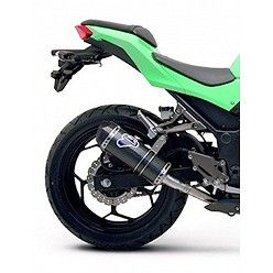 Escape Termignoni Kawasaki Ninja 300 R 2012-2015 Relevance Carbono K074094CV