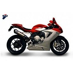 Escape Termignoni MV Agusta F3 675 2012-2016 Relevance Full Titanio MV1709440TTC