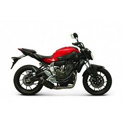Escape y colectores Termignoni Yamaha MT07 2014-2017 Relevance Carbono Y104090CV + Y104CAT
