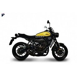 Escape y colectores Termignoni Yamaha XSR 700 2014-2017 Relevance Carbono Y104090CVB + Y104CAT