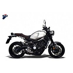 Escape y colectores Termignoni Yamaha XSR 900 2014-2017 Relevance Carbono Y102090CVB + Y102CAT