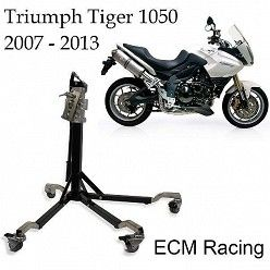 Elevador central de moto racing ECM para Triumph Tiger 1050 2007-2013