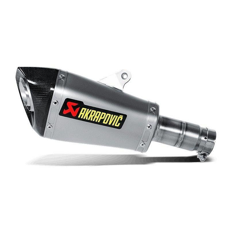 Escape Akrapovic Yamaha R6 2017 Titanio copa Carbono S-Y6SO9-ASZ