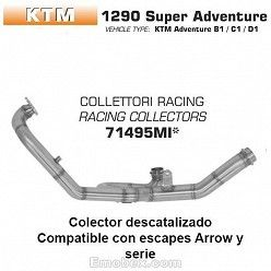Colectores KTM 1290 Super Adventure 2017 Arrow 71495MI