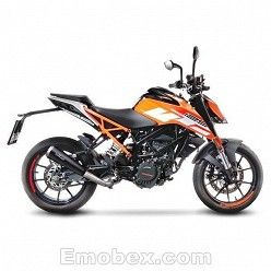 Escape KTM Duke 125 2017 Leovince GP One Inox  15116