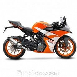 Escape KTM RC 125 2017 Leovince LV One Inox copa Carbono 14185E