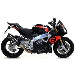 Escape Aprilia Tuono V4 1100 2017 Arrow Race-Tech Carbono copa Carbono 71744MK
