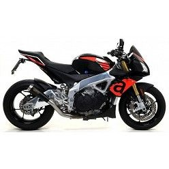 Escape Aprilia Tuono V4 1100 2017 Arrow ProRace Nichrom Dark 71210PRN