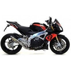 Escape Aprilia Tuono V4 1100 2017 Arrow GP2 Titanio 71535GP