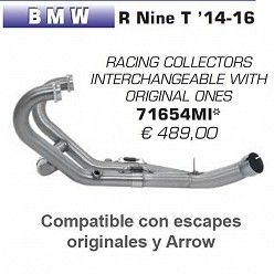 Colectores BMW R nine T 2014-2016 Arrow 71654MI