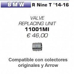 Adaptador eliminacion valvula Arrow para BMW R nine T Scrambler 2016-2018