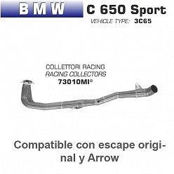 Colectores Arrow BMW C650 Sport 2016-2018