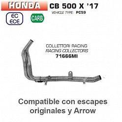 Colectores Arrow para Honda CB 500 X 2017-2018 71666MI