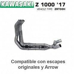 Colectores Kawasaki Z1000 2017 Arrow 71662MI