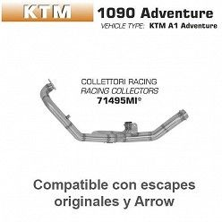 Colectores Arrow KTM 1090 Adventure 2017-2018