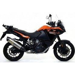 Escape KTM 1290 Super Adventure 2017 Arrow Race-Tech Titanio copa Carbono 71809PK