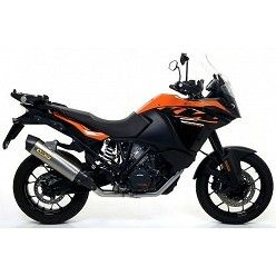 Escape KTM 1290 Super Adventure 2017 Arrow Race-Tech Aluminio copa Carbono 71809AK
