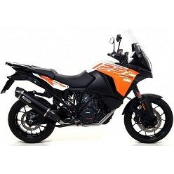 Escape KTM 1290 Super Adventure 2017 Arrow Race-Tech Aluminio Dark copa Carbono 71809AKN