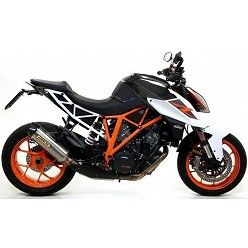 Escape KTM 1290 SuperDuke 2017 Arrow Race-Tech Titanio copa Carbono 71820PK
