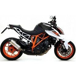 Escape KTM 1290 SuperDuke 2017 Arrow Race-Tech Aluminio copa Carbono 71820AK