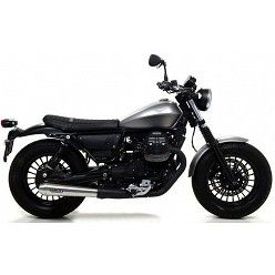 Escapes Moto Guzzi V9 Bobber - Roamer 2017-2018 Arrow ProRacing Nichrom