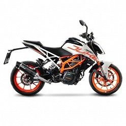 Escape KTM Duke 390 2017 Leovince LV One Carbono copa Carbono 14186E
