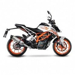 Escape KTM Duke 390 2017 Leovince LV One Inox copa Carbono 14185E