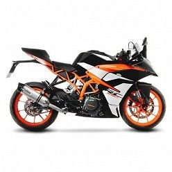 Escape KTM RC 390 2017 Leovince LV One Inox copa Carbono 14185E