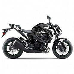 Kit vinilo Deco Up Maximize Kawasaki Z800 Negro - Blanco