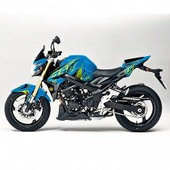 Kit vinilo Deco Up Maximize Suzuki GSR 750 Azul - Amarillo