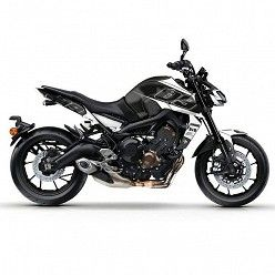Kit vinilo Deco Up Maximize Yamaha MT09 2017 Negro - Blanco