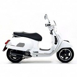 Escape Piaggio Vespa GTS 300 2017-2018 Arrow Urban Aluminio Dark