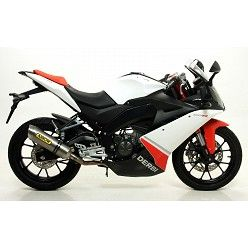 Escape Arrow Derbi GPR 125 4T 2010-2015 Street Thunder Titanio 51505PO