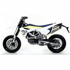 Escape Husqvarna 701 2017-2018 Arrow Race-Tech Titanio