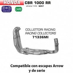 Colectores racing Arrow Honda CBR 1000 RR 2004-2007