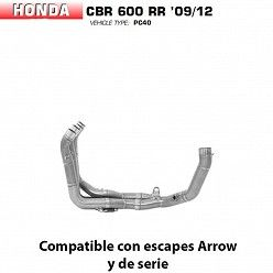 Colectores racing Arrow Honda CBR 600 RR 2009-2011