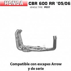 Colectores racing Arrow Honda CBR 600 RR 2005-2006