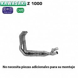 Colectores Arrow Kawasaki Z1000 2014-2016