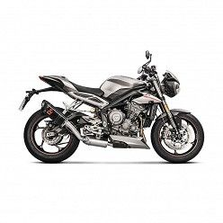 Escape Akrapovic Triumph Street Triple 765 2017 Carbono