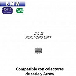 Adaptador eliminacion valvula Arrow para BMW R nine T 2014-2016