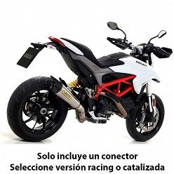 Escape Arrow Ducati Hyperstrada 2013-2018 X-Kone Nichrom copa Carbono